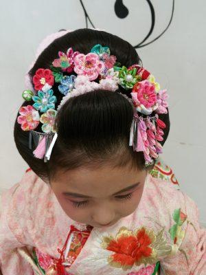 👘七五三👘日本髪🍡