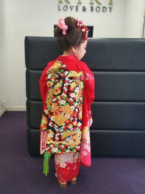 七五三👘7歳&日本髪で舞妓風